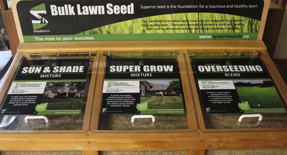 Speare Seeds Bulk Seed Bin is available at many retailers